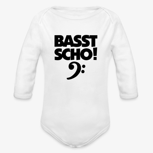 BASST SCHO! Bass Design für Bassisten - Baby Bio-Langarm-Body