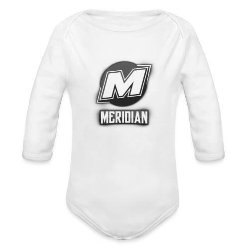 Meridian Merch - Baby Bio-Langarm-Body