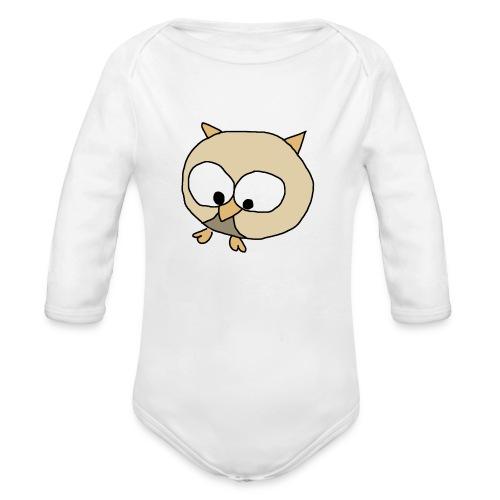 Uggla - Ekologisk långärmad babybody