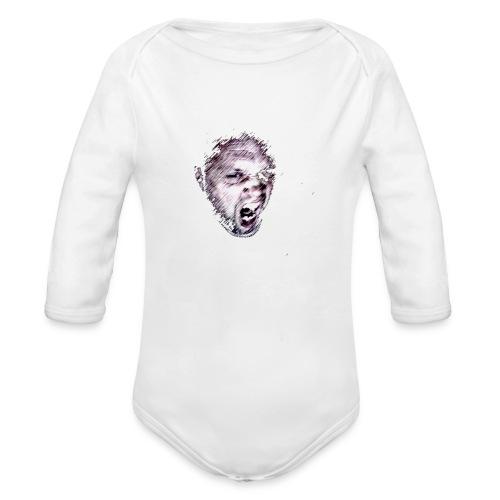ikke1 png - Organic Longsleeve Baby Bodysuit