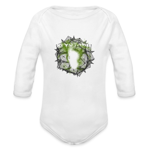 Kryptonit2 - Baby Bio-Langarm-Body