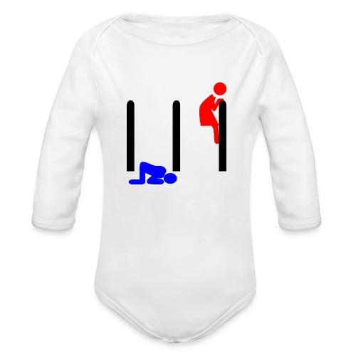 Mann und Frau - Baby Bio-Langarm-Body