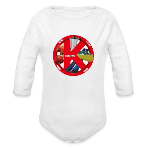 logoforeskil - Organic Longsleeve Baby Bodysuit