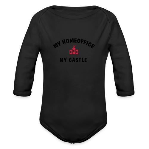 MY HOMEOFFICE MY CASTLE - Baby Bio-Langarm-Body