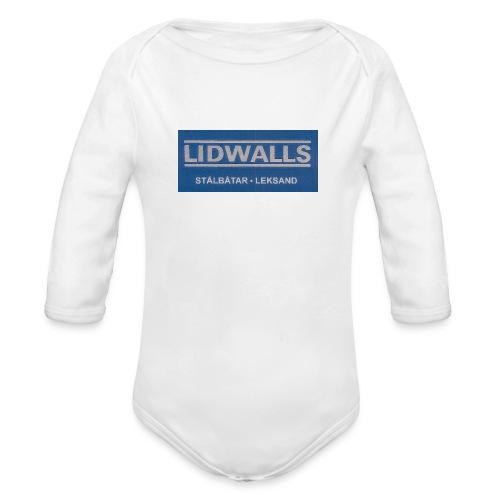 Lidwalls Stålbåtar - Ekologisk långärmad babybody