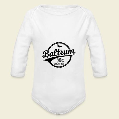 Lieblingsinsel Baltrum - Baby Bio-Langarm-Body