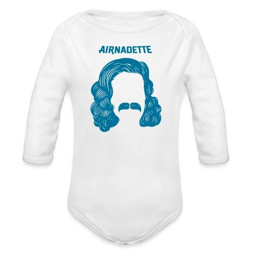Peukss Airnadette - Body Bébé bio manches longues