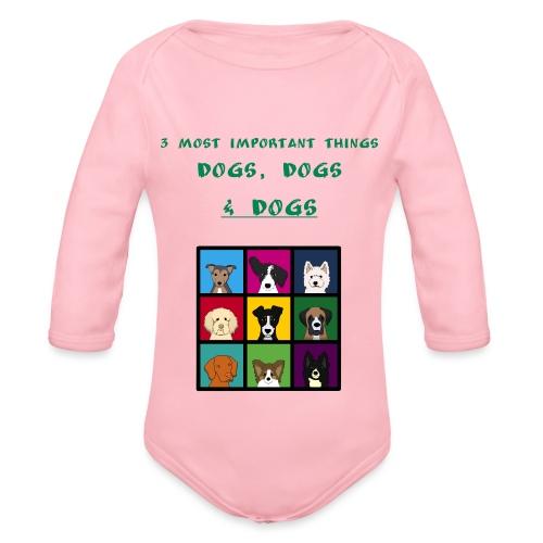 3 most important things - - Vauvan pitkähihainen luomu-body