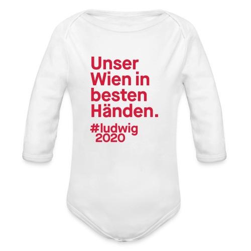 Unser Wien in besten Händen. - Baby Bio-Langarm-Body