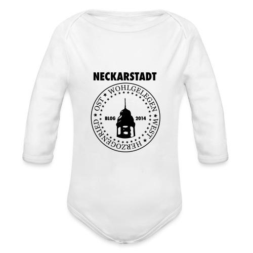Neckarstadt Blog seit 2014 (Logo dunkel) - Baby Bio-Langarm-Body