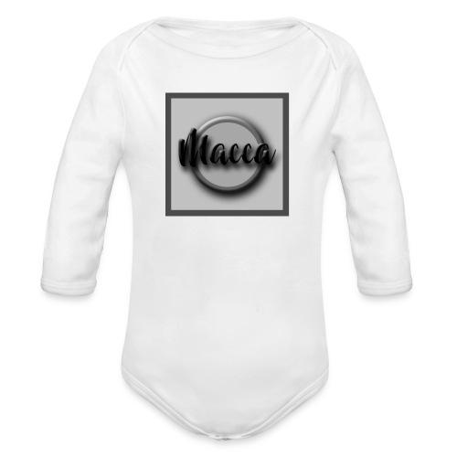 YouTube Channel Logo - Organic Longsleeve Baby Bodysuit