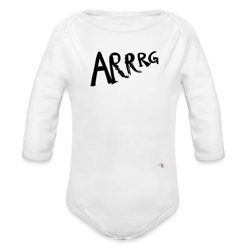 Arrg - Body ecologico per neonato a manica lunga