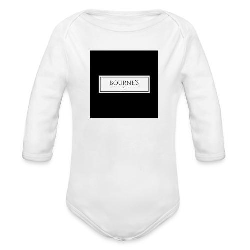 Bourne's Inc - Organic Longsleeve Baby Bodysuit