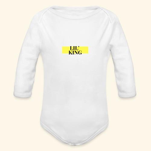 LIL KING - Body orgánico de manga larga para bebé
