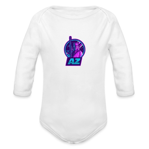 AZ GAMING LOGO - Organic Longsleeve Baby Bodysuit