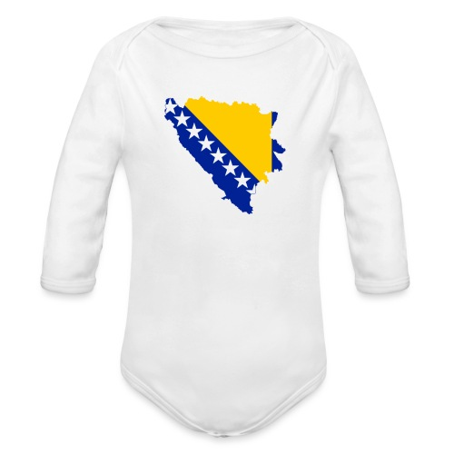 Bosnia and Hercegovina - Langærmet babybody, økologisk bomuld