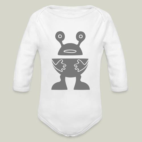 ROBOTTI - Organic Longsleeve Baby Bodysuit