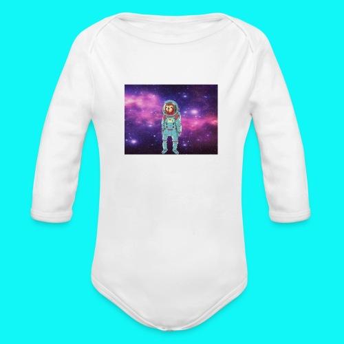 sloth - Organic Longsleeve Baby Bodysuit