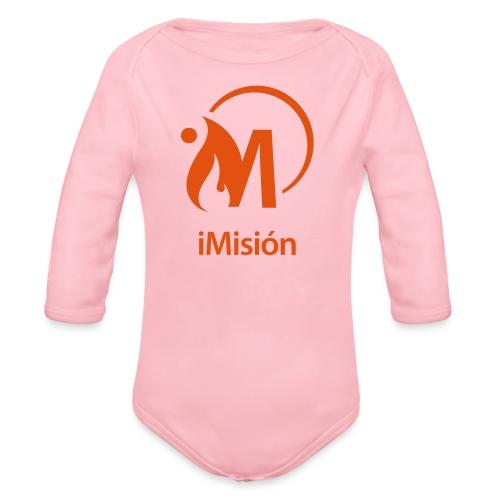 iMisión 1 - Body orgánico de manga larga para bebé