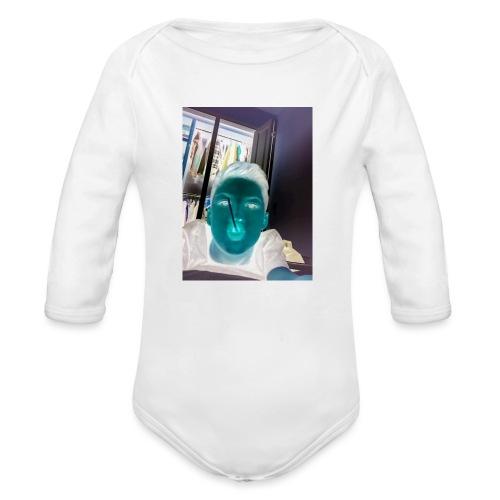 Fletch wild - Organic Longsleeve Baby Bodysuit