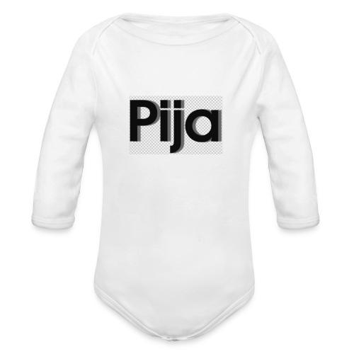 Pija summer 2017 - Baby bio-rompertje met lange mouwen