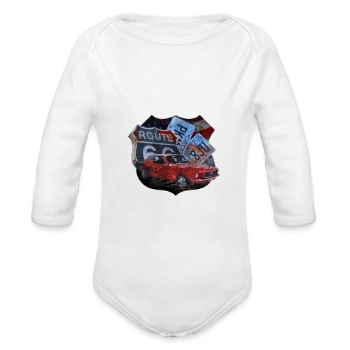 Cars - Organic Longsleeve Baby Bodysuit