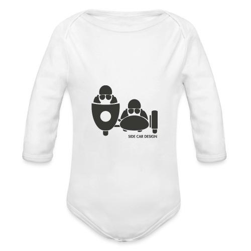 BASSET LOGO - Body Bébé bio manches longues