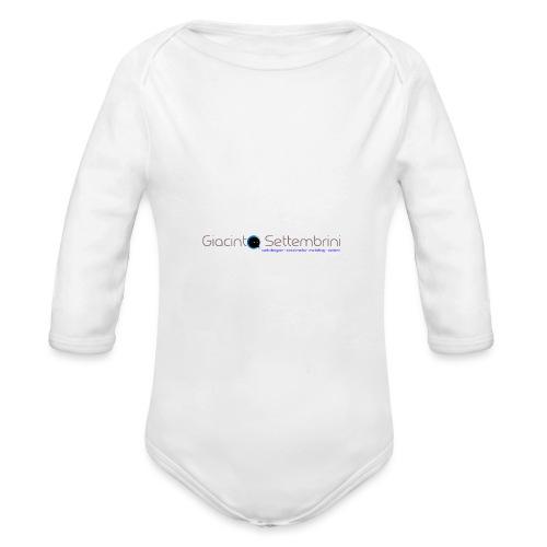 Giacinto Settembrini Web & Social - Body ecologico per neonato a manica lunga