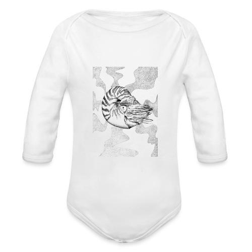 Nautilus - Organic Longsleeve Baby Bodysuit
