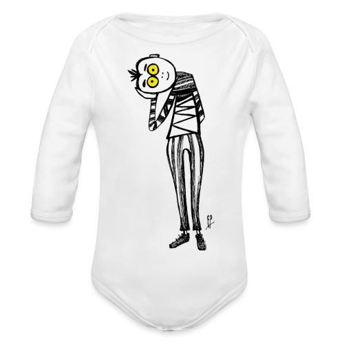 Punto di Vista - Body ecologico per neonato a manica lunga