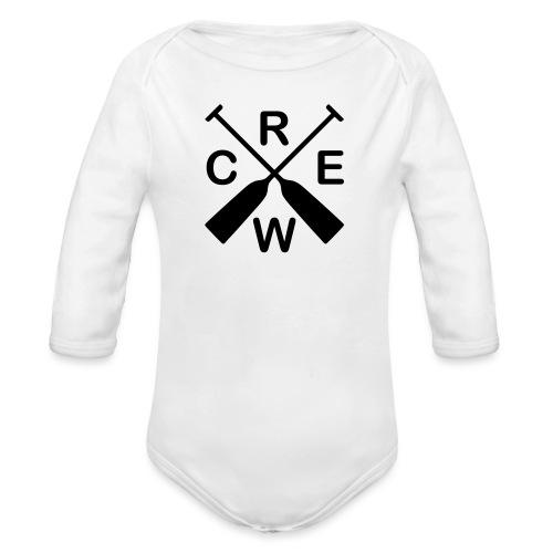 Drachenboot Crew - Baby Bio-Langarm-Body