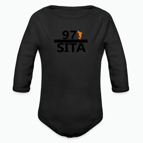 Sweat manche longue 97-Sita - Body Bébé bio manches longues