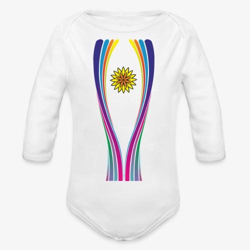 SOLRAC World Cup - Body orgánico de manga larga para bebé