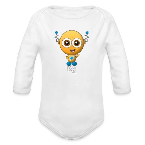Koji - Baby bio-rompertje met lange mouwen