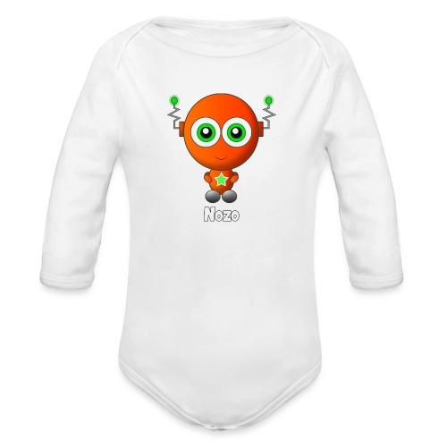 Nozo - Baby bio-rompertje met lange mouwen