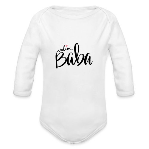 Volim Baba - Ekologisk långärmad babybody
