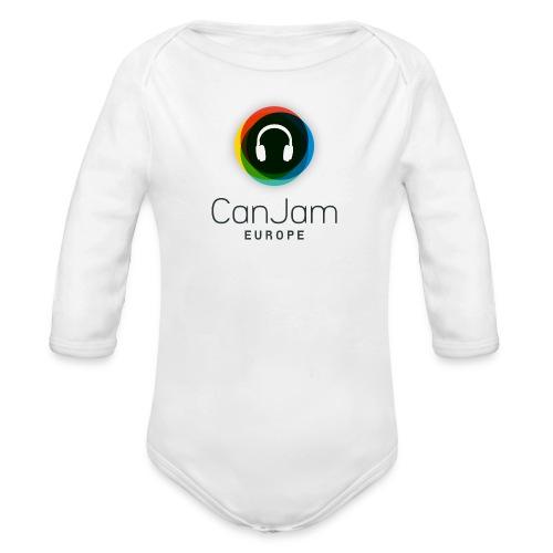 CJE-bk - Organic Longsleeve Baby Bodysuit