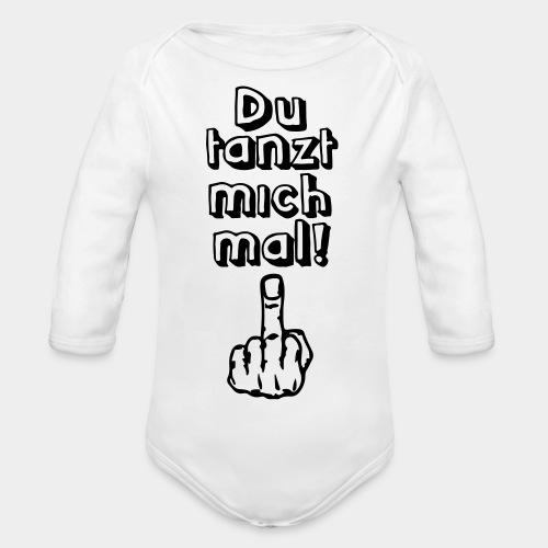 Tanz ab! - Baby Bio-Langarm-Body
