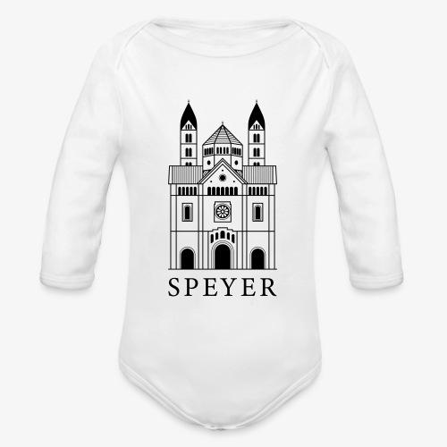 Speyer - Dom - Classic Font - Baby Bio-Langarm-Body
