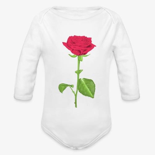 Rosart - Body Bébé bio manches longues