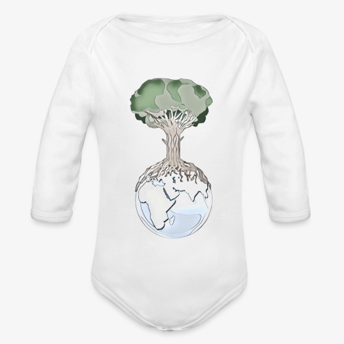 Tree and Earth - Body Bébé bio manches longues