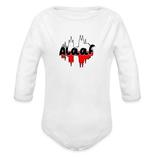 Alaaf - Baby Bio-Langarm-Body
