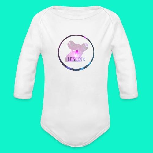 K LESEDI's - Baby bio-rompertje met lange mouwen