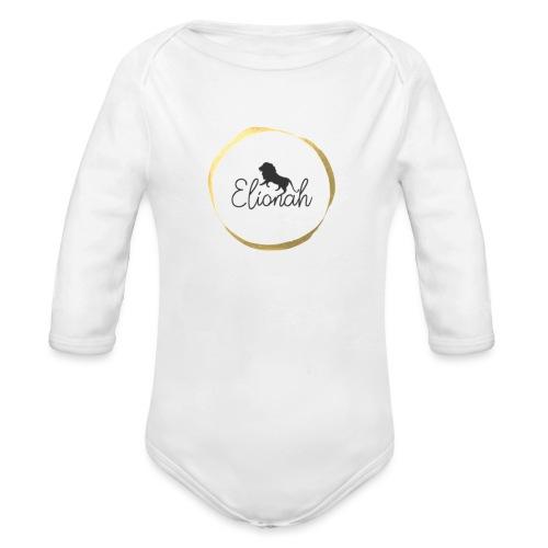 Elionah - Organic Longsleeve Baby Bodysuit
