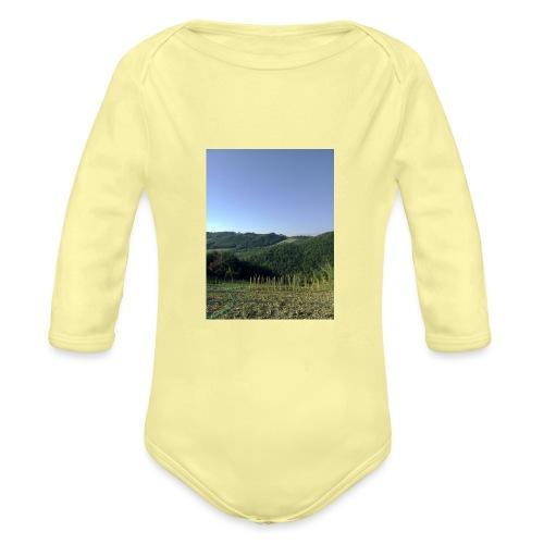 Panorama - Body ecologico per neonato a manica lunga