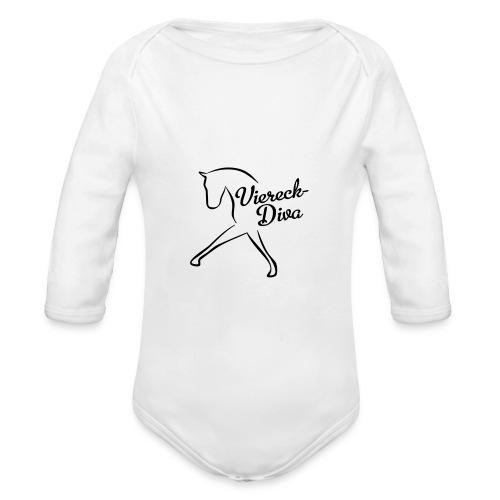 Dressur - Baby Bio-Langarm-Body