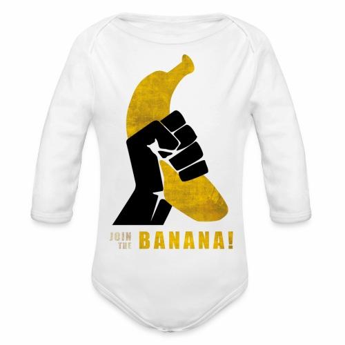 Join the Banana - Body Bébé bio manches longues