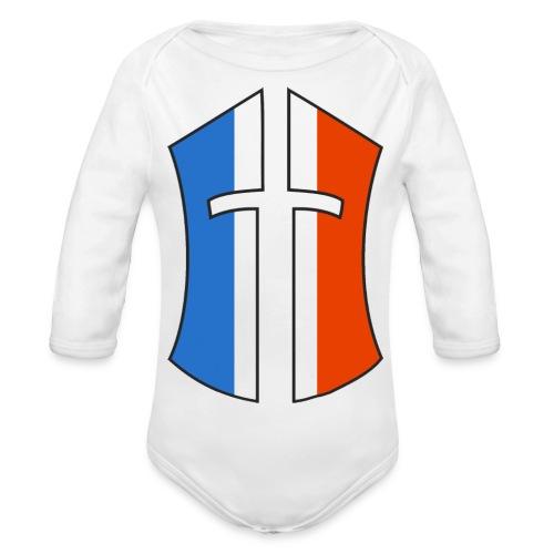 Logo Battle of the Nations France - Body Bébé bio manches longues