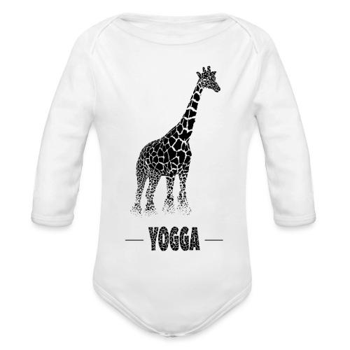 Girafe (F) - Body Bébé bio manches longues
