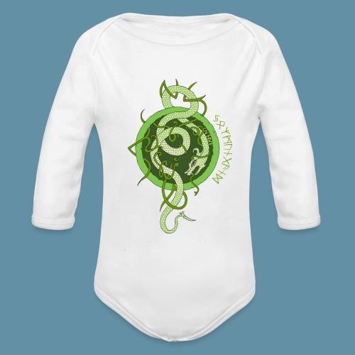 Jormungand logo png - Body ecologico per neonato a manica lunga